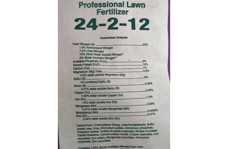 """Why can't I find fertilizer that doesn't say """"slow release"""" on the bag?"""