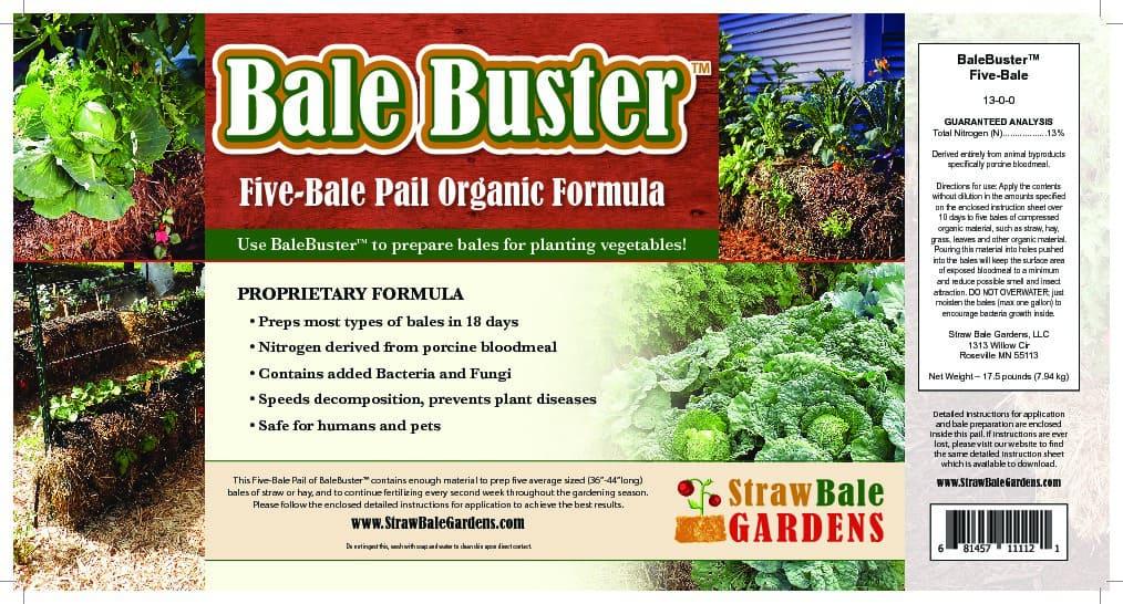 BaleBuster Five-Bale Formula or Twenty-Bale Formula